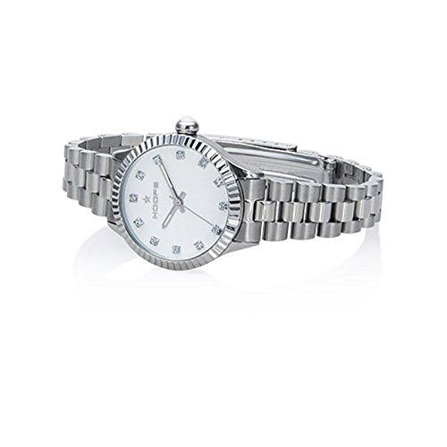 Uhr Damen Luxury Diamonds weiss 2569ld s08 Hoops