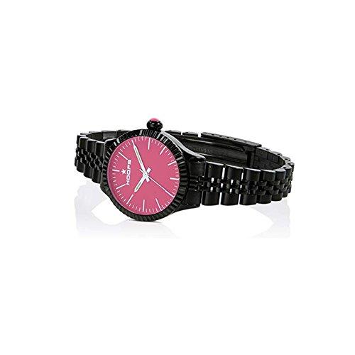 Uhr Damen Luxury Noir Pink 2560lab 02 Hoops