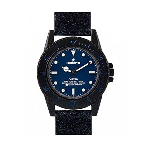 2515l 13 Hoops Uhr Curved blau