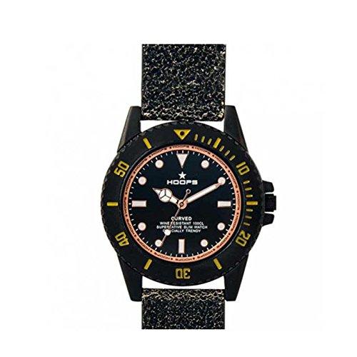 2515l 14 Hoops Uhr Curved schwarz