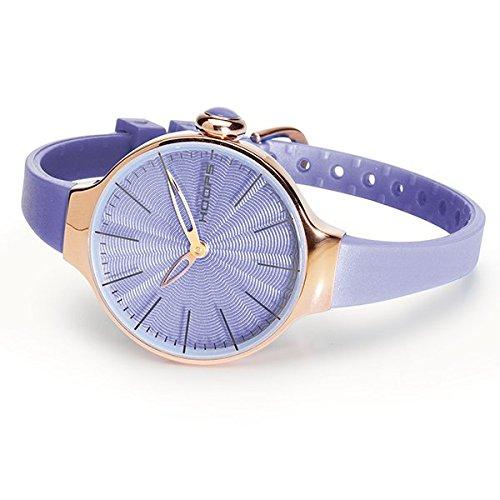 HOOPS Uhren Cherie rose gold Damen Violett 2483lg 22