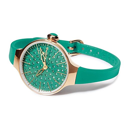HOOPS Uhren Cherie diamond Damen gruen 2483lgd 13