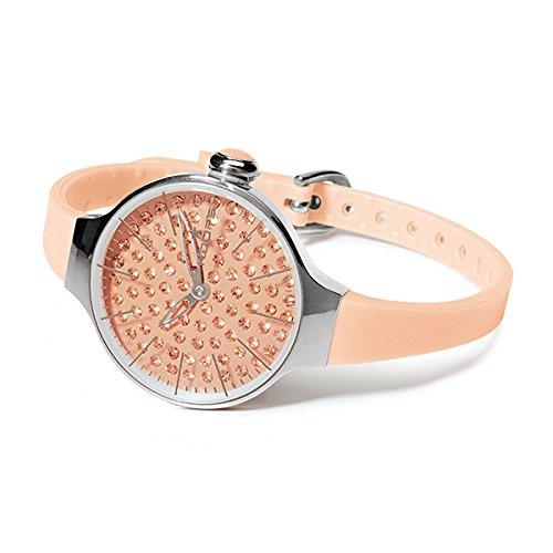 HOOPS Uhren Cherie Diamond Damen aprikose 2483ld 11
