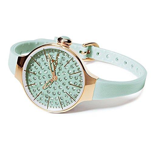 HOOPS Uhren Cherie diamond Damen Aquamarin 2483lgd 09