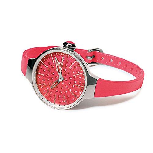 HOOPS Uhren Cherie Diamond Damen Koralle 2483ld 12