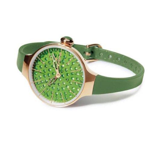 HOOPS Uhren Cherie Diamond Gold zeit Gruen 2483lgd 03