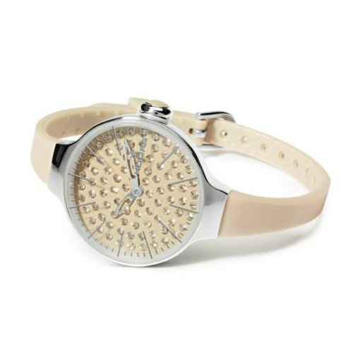 HOOPS Uhren Cherie Diamond zeit Beige 2483ld 02