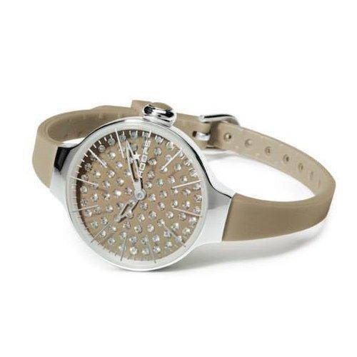 HOOPS Uhren Cherie Diamond zeit Braun 2483ld 08
