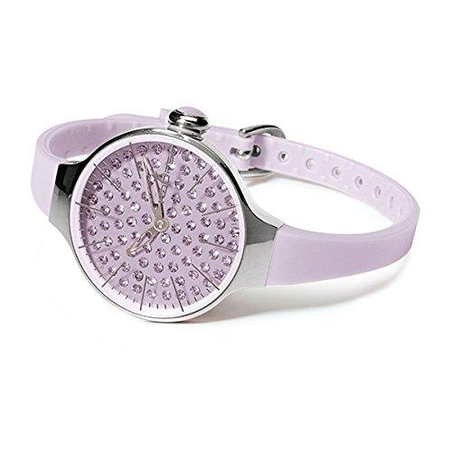HOOPS Uhren Cherie Diamond Damen Violett 2483ld 10