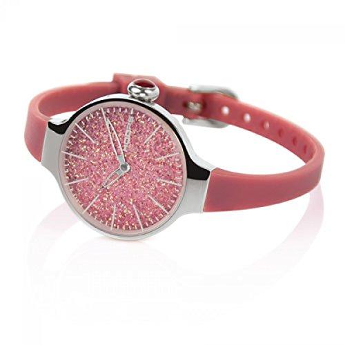 HOOPS Uhren Cherie Glitter zeit lila 2483LH 04