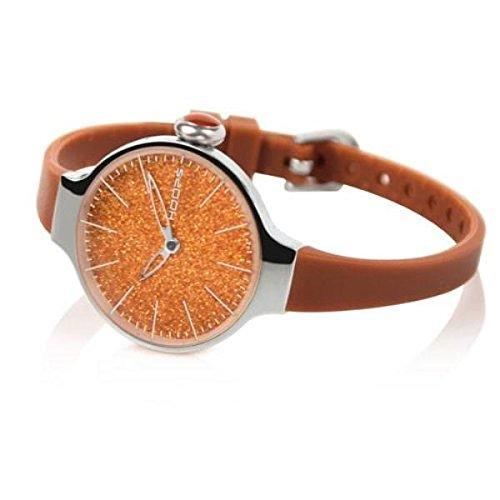 HOOPS Uhren Cherie Glitter zeit Braun 2483LH 08