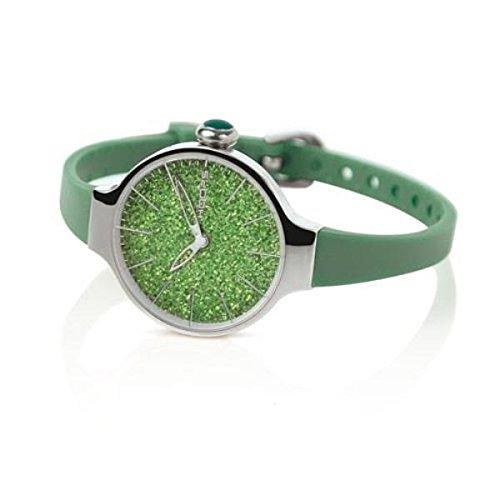 HOOPS Uhren Cherie Glitter zeit Gruen 2483LH 02