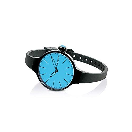 HOOPS Uhren CHERIE Noir hellblau 2483le 04