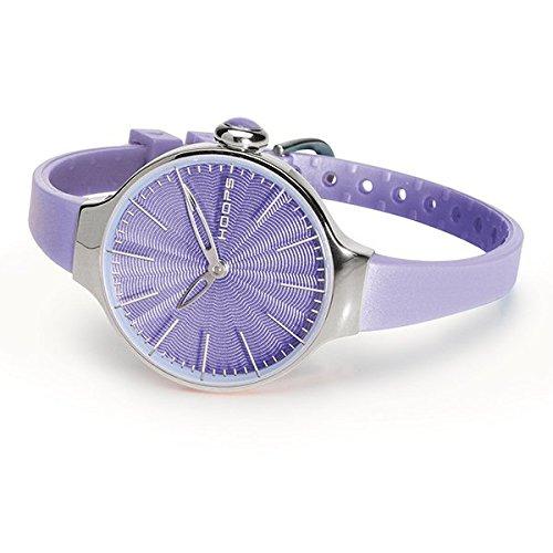HOOPS Uhren CHERIE SILVER Damen Lila 2483l 22