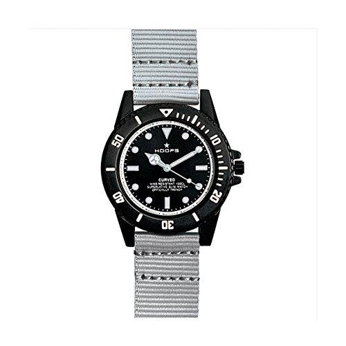 HOOPS Uhren Curved Herren Grau 2515l 04