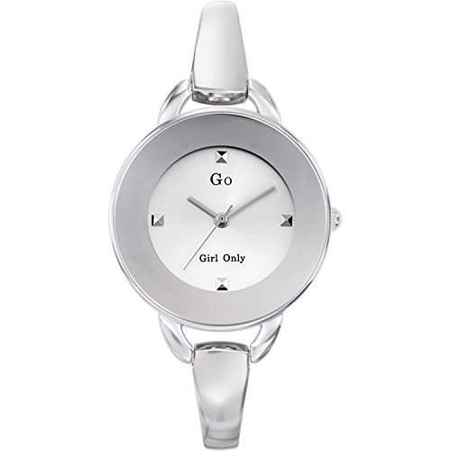 Go Girl Only-694560Damen-Armbanduhr 045J699Analog silber Armband Metall silber