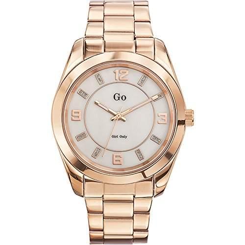 Go Girl Only Damen-Armbanduhr 694917 Analog Quarz Gold 694917