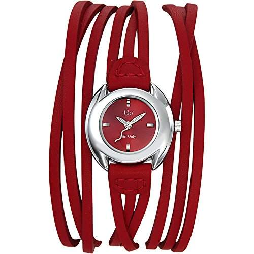 GO Girl Only Damen-Armbanduhr Analog Quarz Leder 696268