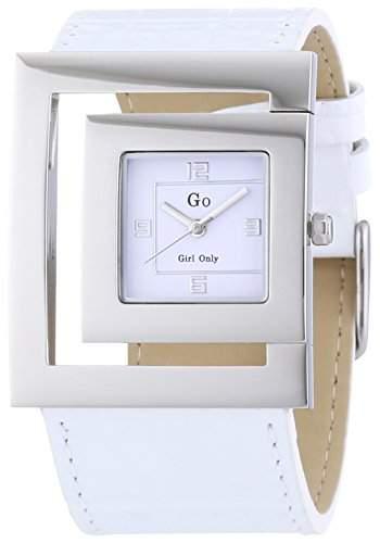 GO Girl Only Damen-Armbanduhr Analog Quarz Leder 696584