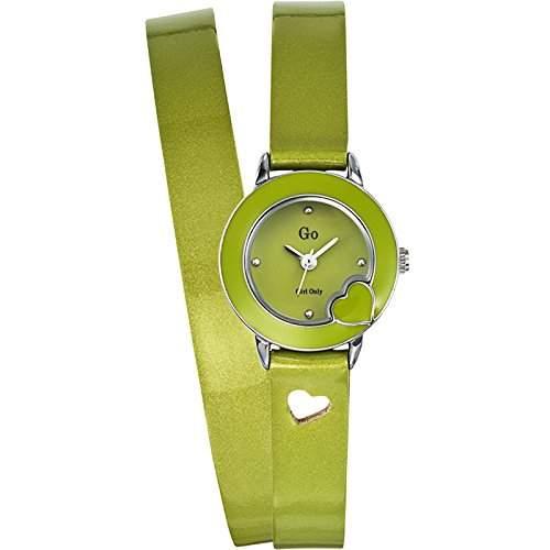 Go Girl Only Damen-Armbanduhr Analog Quarz Gruen 697553