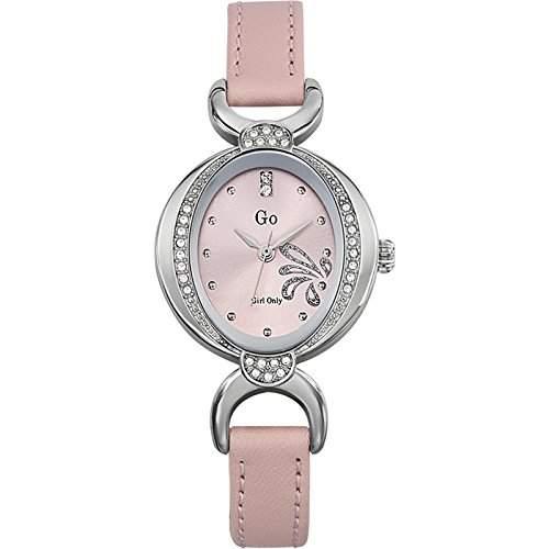GO Girl Only Damen-Armbanduhr Analog Leder 697754