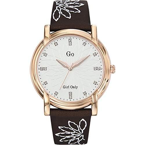 GO Girl Only Damen-Armbanduhr Analog Quarz Leder 697771