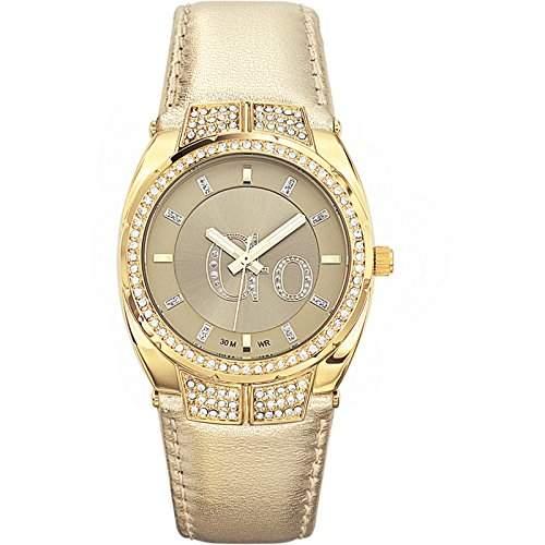 Go Girl Only Damen-Armbanduhr Analog Quarz Gold 698230