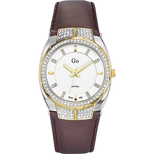 Go Girl Only Damen-Armbanduhr Analog Quarz Braun 698234