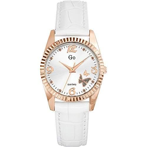 Go Girl Only Damen-Armbanduhr Analog Quarz Leder 698543