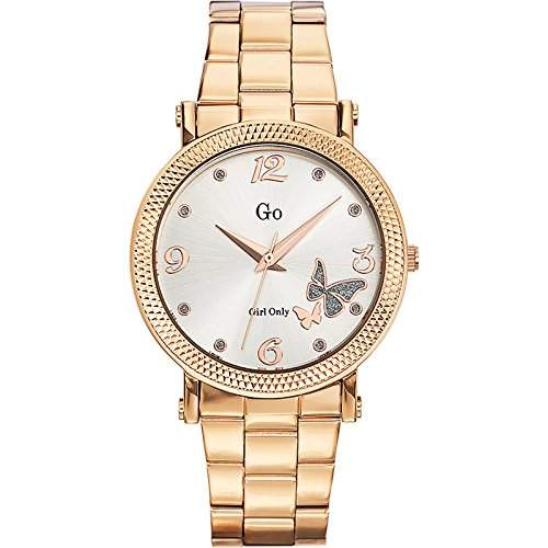 Go Girl Only Damen-Armbanduhr Analog Quarz Edelstahl 694759