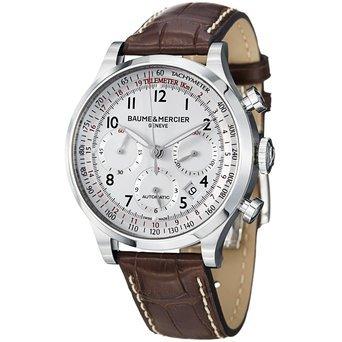 Baume und Mercier Capeland Chronograph Herren Automatik Uhr m0 a10082