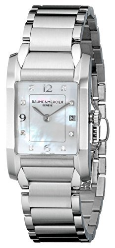 Baume Mercier Damen moa10050 Quarz Edelstahl Perlmutt Zifferblatt Armbanduhr by Baume Mercier