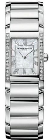 Damen armbanduhr Baume Mercier MOA08748