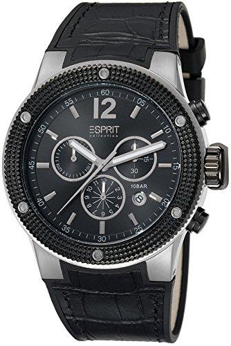 Esprit Collection Anteros Chronograph Quarz Leder EL101281F01