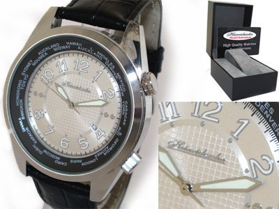 Heinrichssohn Danzig Silver HS1003 Herrenuhr