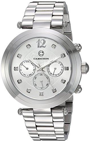Cabochon Damen Armbanduhr 10263 22