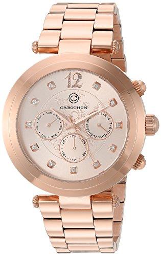 Cabochon Damen Armbanduhr 10263 RG 99