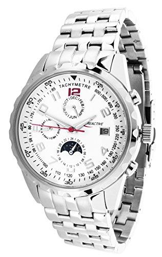 Creactive Herren Armbanduhr Automatik Analog Edelstahl CA120102