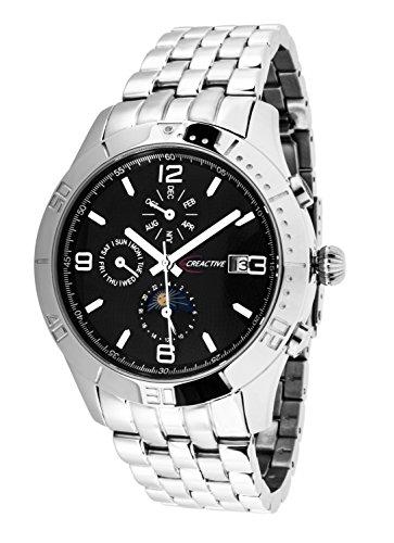 Creactive Herren Armbanduhr Automatik Analog Edelstahl CA120116