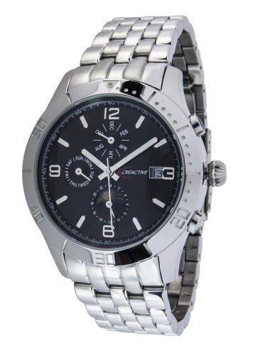 Creactive Herren Armbanduhr Automatik Analog Edelstahl CA120116 CT