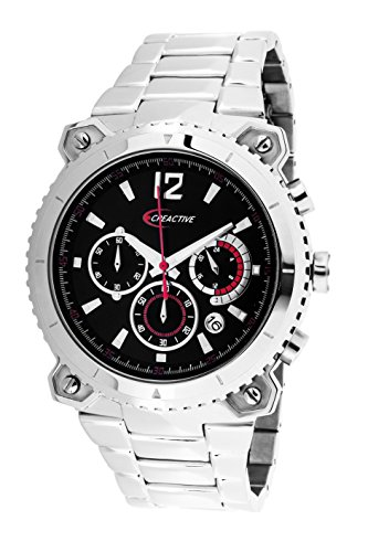 Creactive Chronograph Quarz Analog Edelstahl CA120106