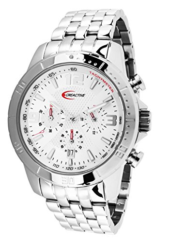 Creactive Chronograph Quarz Analog Edelstahl CA120108