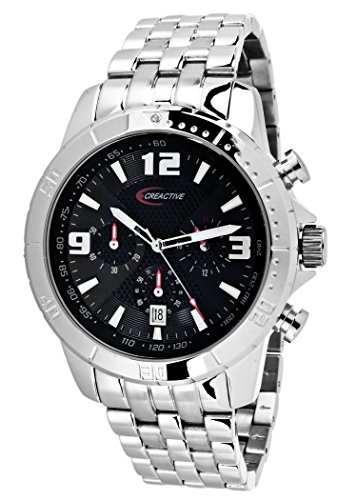 Creactive Chronograph Quarz Analog Edelstahl CA120109