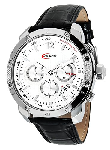 Creactive Chronograph Quarz Analog Leder CA120115