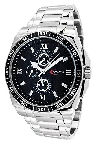 Creactive Herren Armbanduhr Quarz Analog Edelstahl CA120110