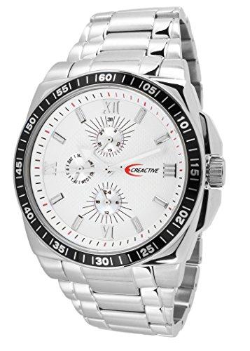 Creactive Herren Armbanduhr Quarz Analog Edelstahl CA120111