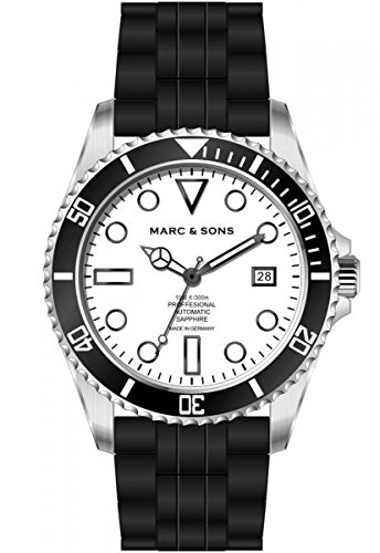 MARC SONS Professional Automatik Taucheruhr Diver Watch MSD 044 WS