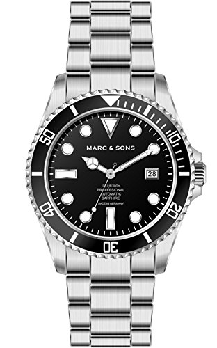 MARC SONS Professional Automatik Taucheruhr BGW9 Diver Watch MSD 044 B