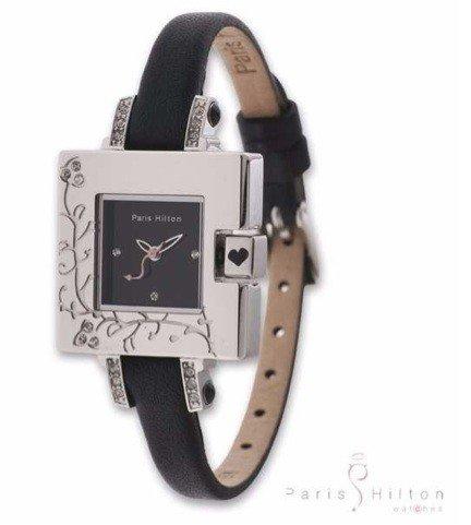 Paris Hilton Small Square 138 4308 99 Armbanduhr fuer Sie Design Highlight