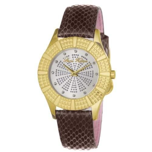 Paris Hilton Damen-Armbanduhr HEIRESS Analog Leder PH13103JSG-06